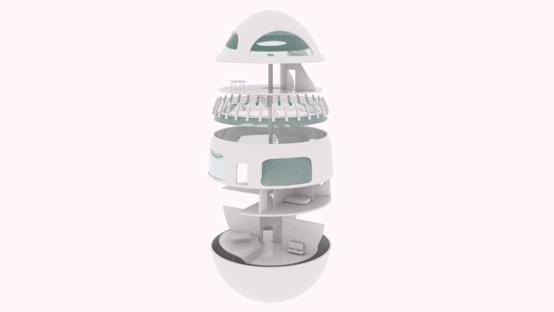 Egg House Concept Design