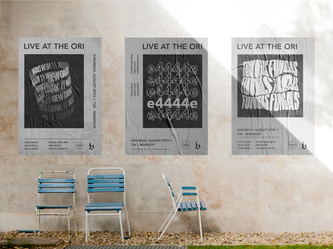 The Ori - Digital Poster Series